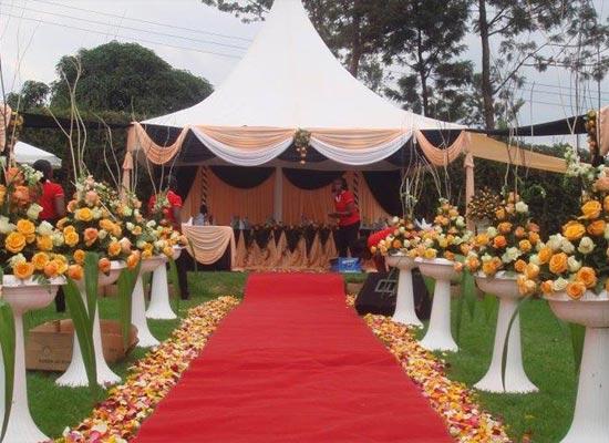 200 Pax Garden Wedding with Restaurant Set Up Package ...